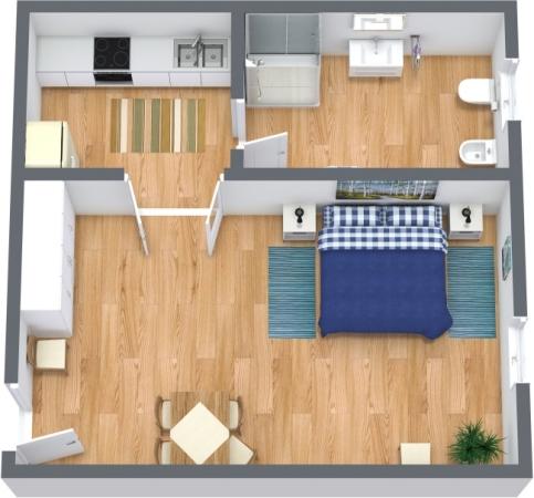 Planimetrics Apartment N.301