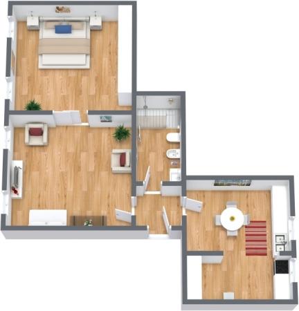 Planimetrics Apartment N.308