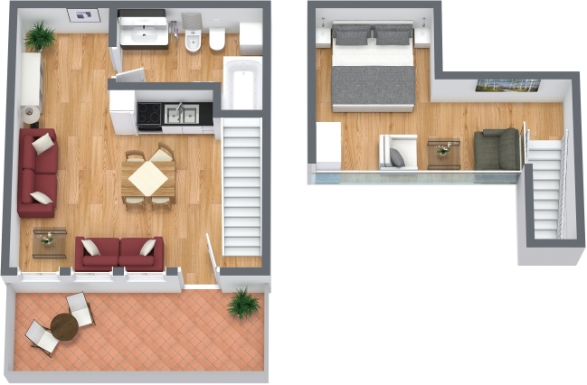 Planimetrics Apartment N.313