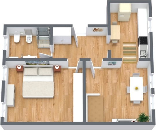 Planimetrics Apartment N.314