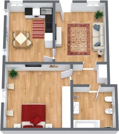 Planimetrics Apartment N.315