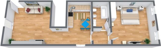 Planimetrics Apartment N.316