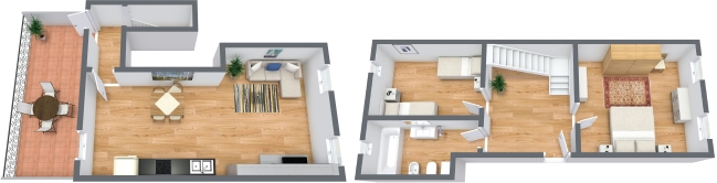 Planimetrics Apartment N.321