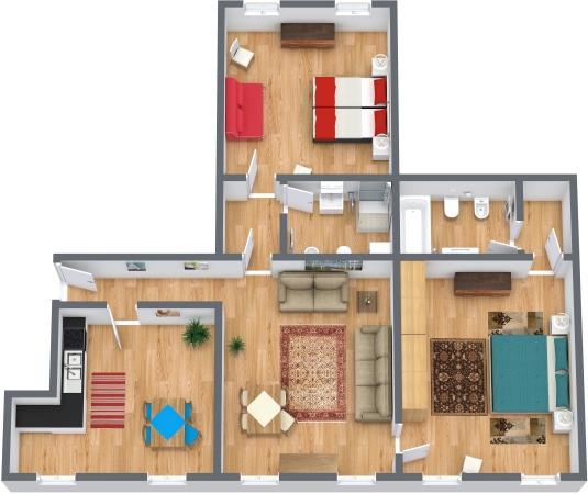 Planimetrics Apartment N.323