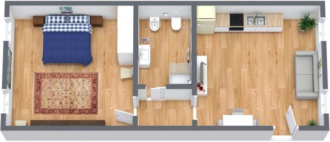 Planimetrics Apartment N.326