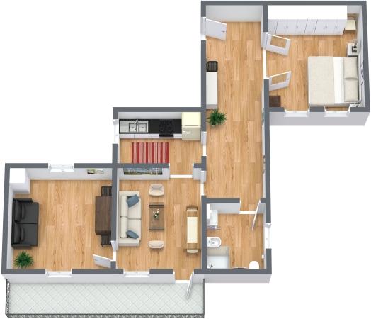 Planimetrics Apartment N.331