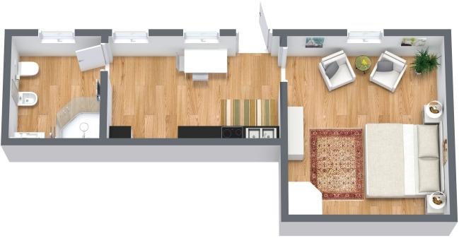 Planimetrics Apartment N.332