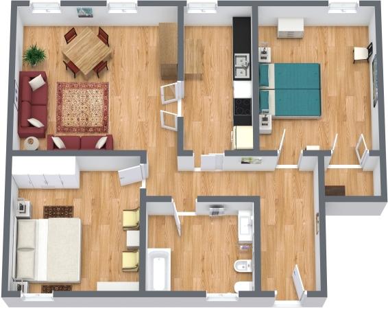 Planimetrics Apartment N.340