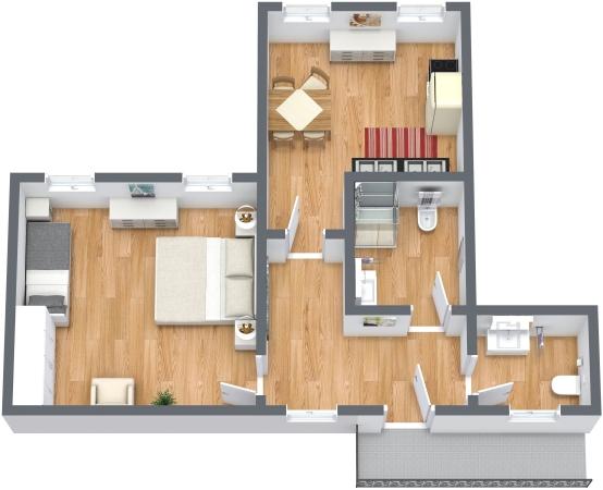 Planimetrics Apartment N.348