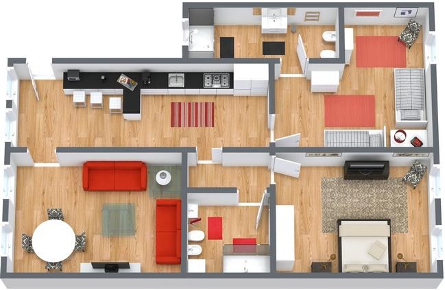 Planimetrics Apartment N.35