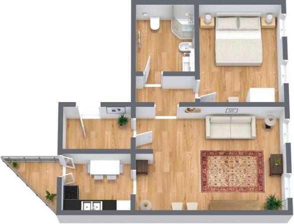 Planimetrics Apartment N.353