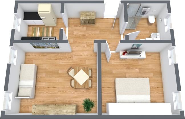 Planimetrics Apartment N.354