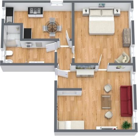 Planimetrics Apartment N.356