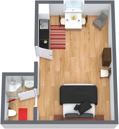 Planimetrics Apartment N.36
