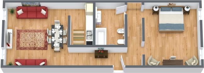 Planimetrics Apartment N.362