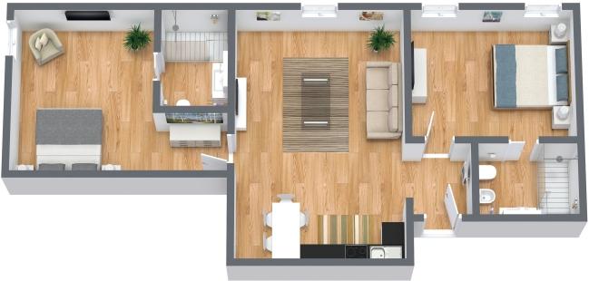 Planimetrics Apartment N.367