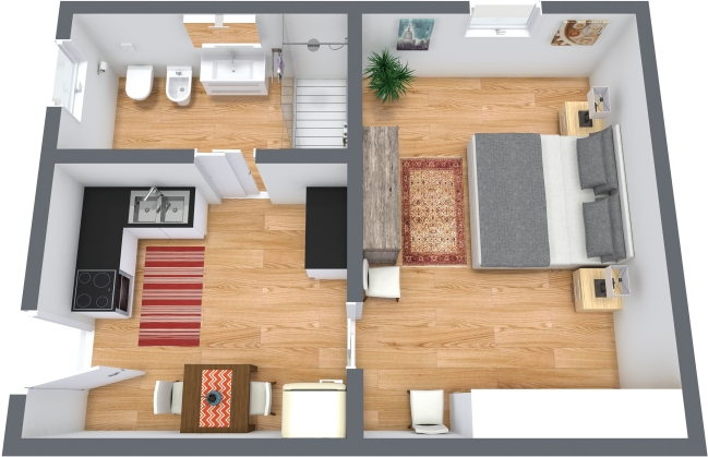 Planimetrics Apartment N.369