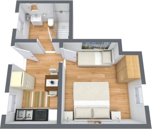 Planimetrics Apartment N.389