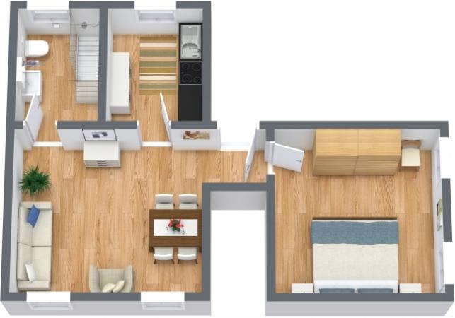 Planimetrics Apartment N.396