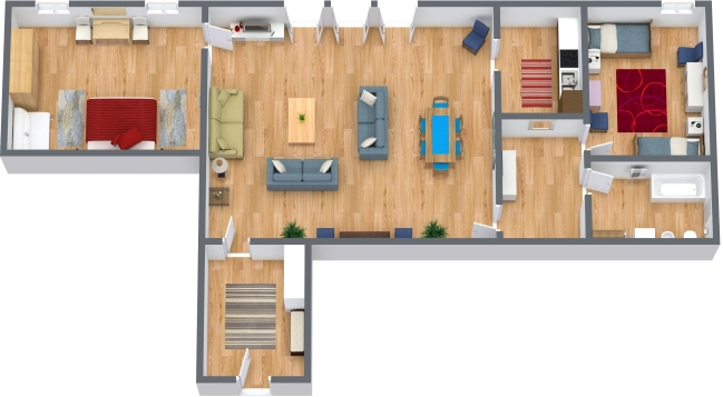 Planimetrics Apartment N.43