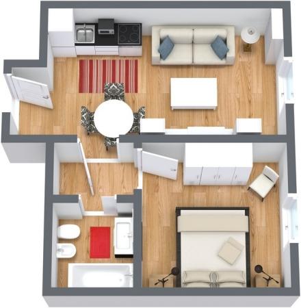 Planimetrics Apartment N.61