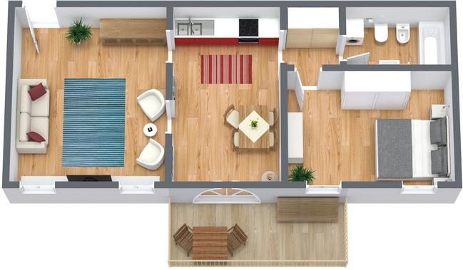 Planimetrics Apartment N.63