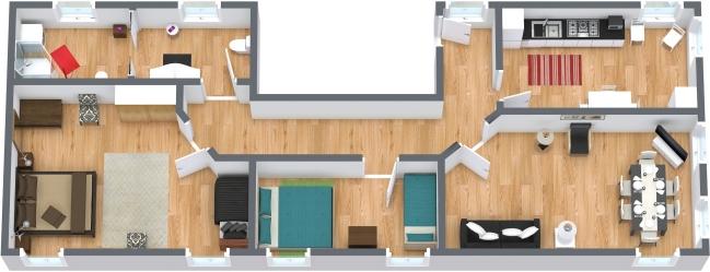Planimetrics Apartment N.64