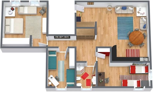 Planimetrics Apartment N.94