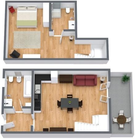 Planimetrics Apartment N.96