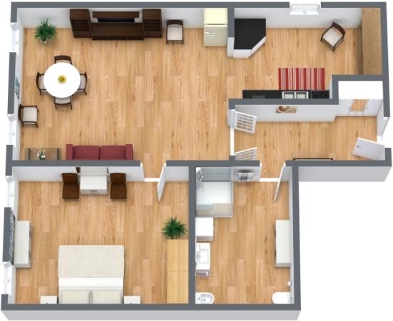 Planimetrics Apartment N.10
