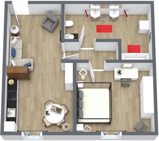 Planimetrics Apartment N.104