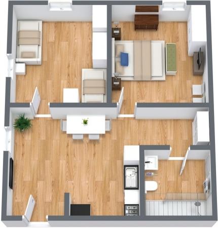 Planimetrics Apartment N.108