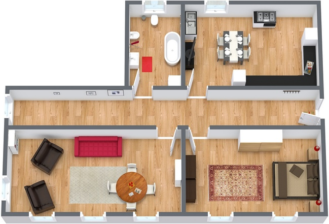 Planimetrics Apartment N.109
