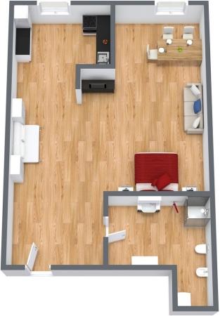 Planimetrics Apartment N.111