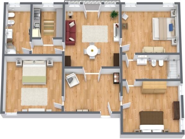 Planimetrics Apartment N.114