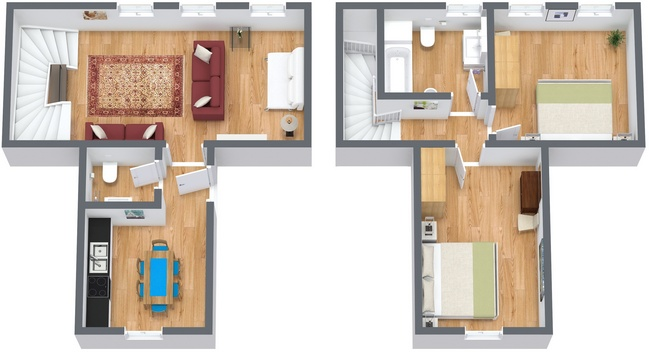 Planimetrics Apartment N.115