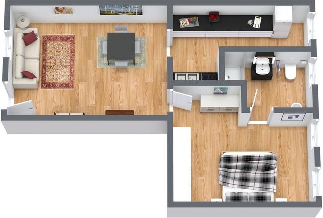 Planimetrics Apartment N.116