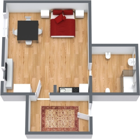 Planimetrics Apartment N.125