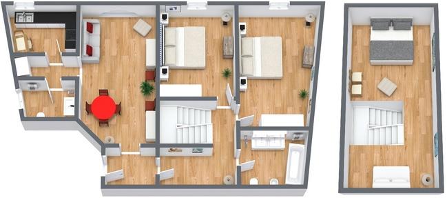 Planimetrics Apartment N.119