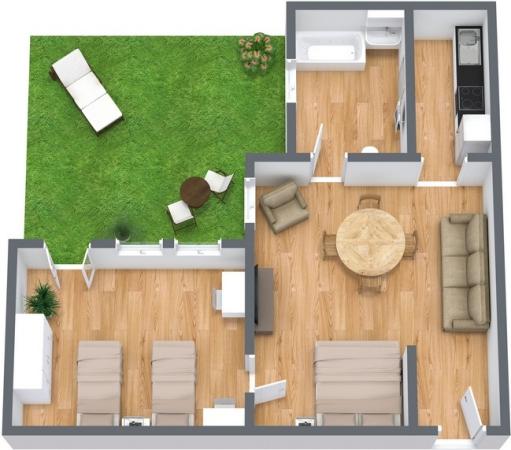 Planimetrics Apartment N.12