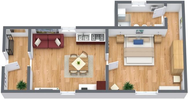 Planimetrics Apartment N.120