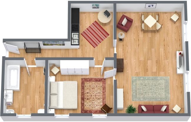 Planimetrics Apartment N.121