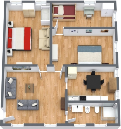 Planimetrics Apartment N.129