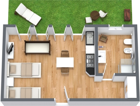 Planimetrics Apartment N.13