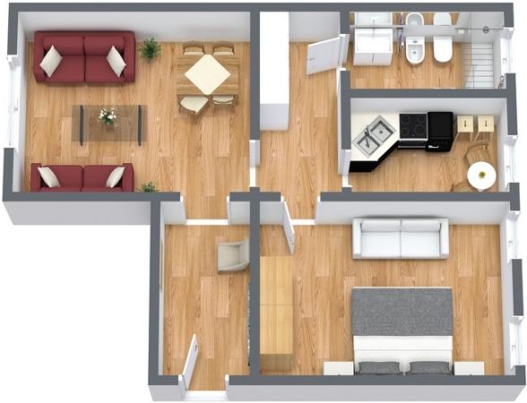 Planimetrics Apartment N.131