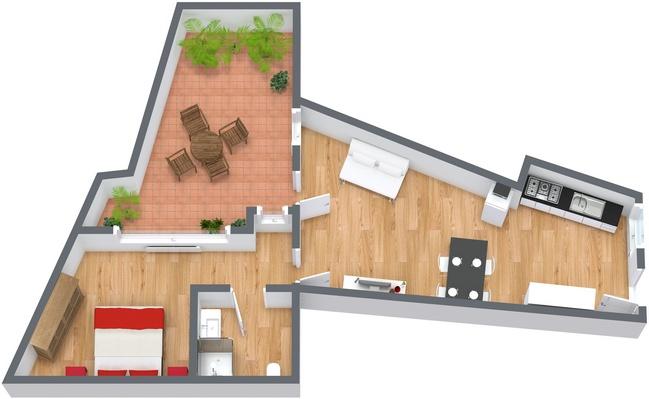 Planimetrics Apartment N.134