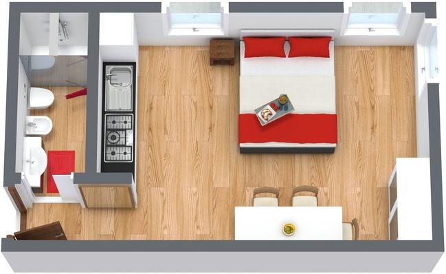 Planimetrics Apartment N.206