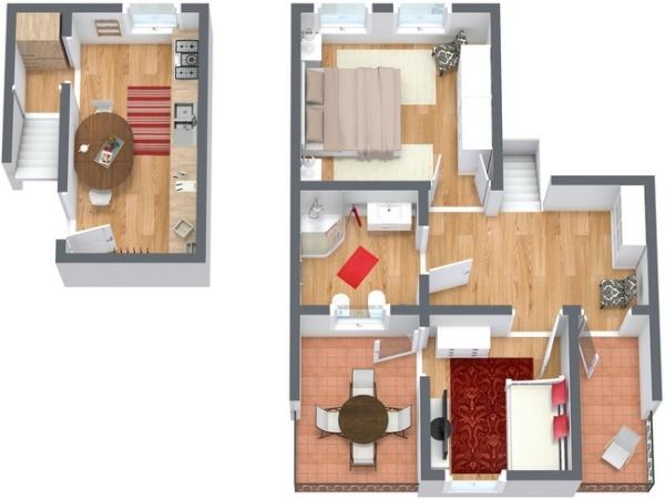 Planimetrics Apartment N.138