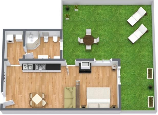 Planimetrics Apartment N.14