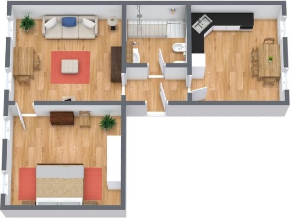 Planimetrics Apartment N.140